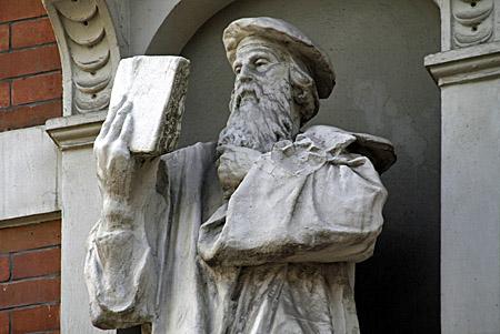 Statue von Johannes Gutenberg - Foto: Martina Berg