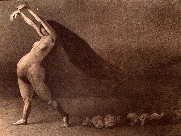 Buchillustration von Kubin