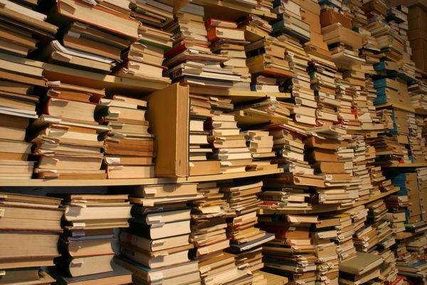 Ein Blick in mein Bücherlager | Foto: © Martina Berg