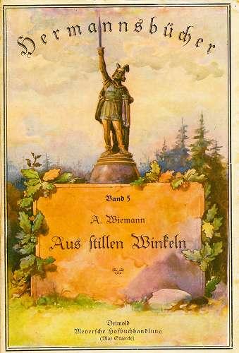 Wiemann, A.: Aus stillen Winkeln. SIGNIERT! Hermannsbücher Band 5 (1922)