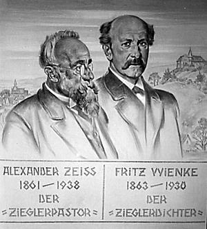 Alexander Zeiss und Friedrich Wienke