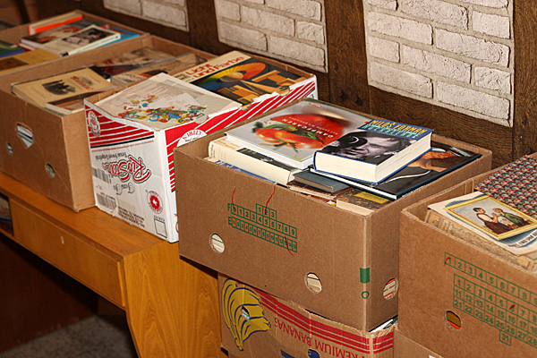 Mehr Kisten - mehr Bücher