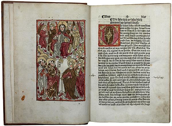 Lanzkranna, Stephan. Die Hymel Strasz. Augsburg, Anton Sorg 1484. 48.000 Euro