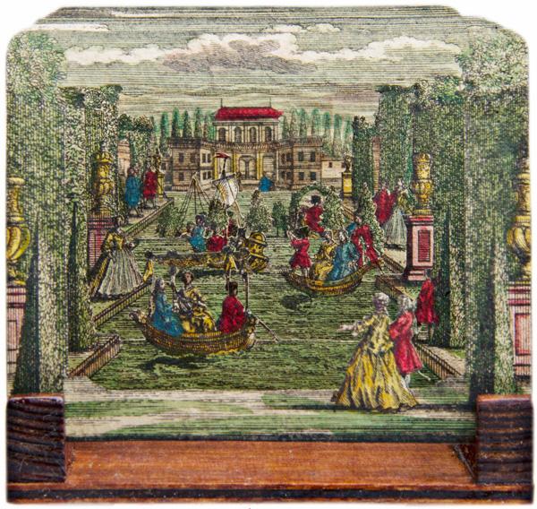 Papiertheater - Miniaturtheaterkulisse. 1.200 Euro