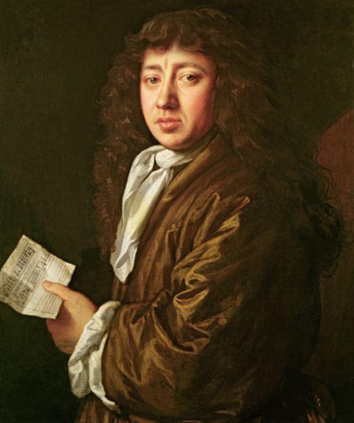 Samuel Pepys auf dem Gemälde von John Hayls von 1666