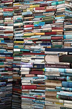 Bücher als Kunstobjekt