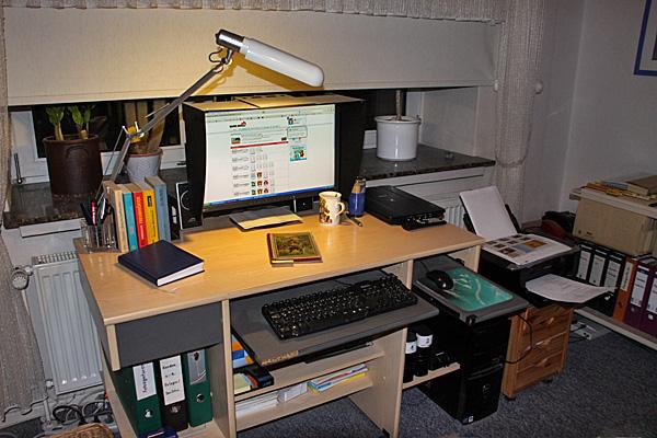 Mein Schreibtisch - Foto: © Martina Berg