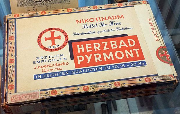 """Zigarren """"Herzbad Pyrmont"""" - Foto: © Martina Berg"""