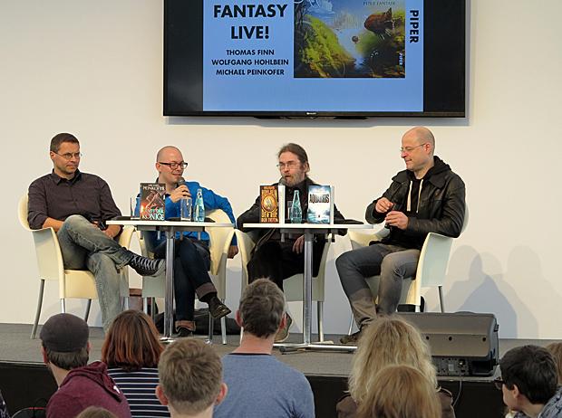 Thomas Finn, Wolfgang Hohlbein und Michael Peinkofer