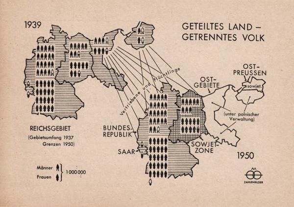 Geteiltes Land - getrenntes Volk