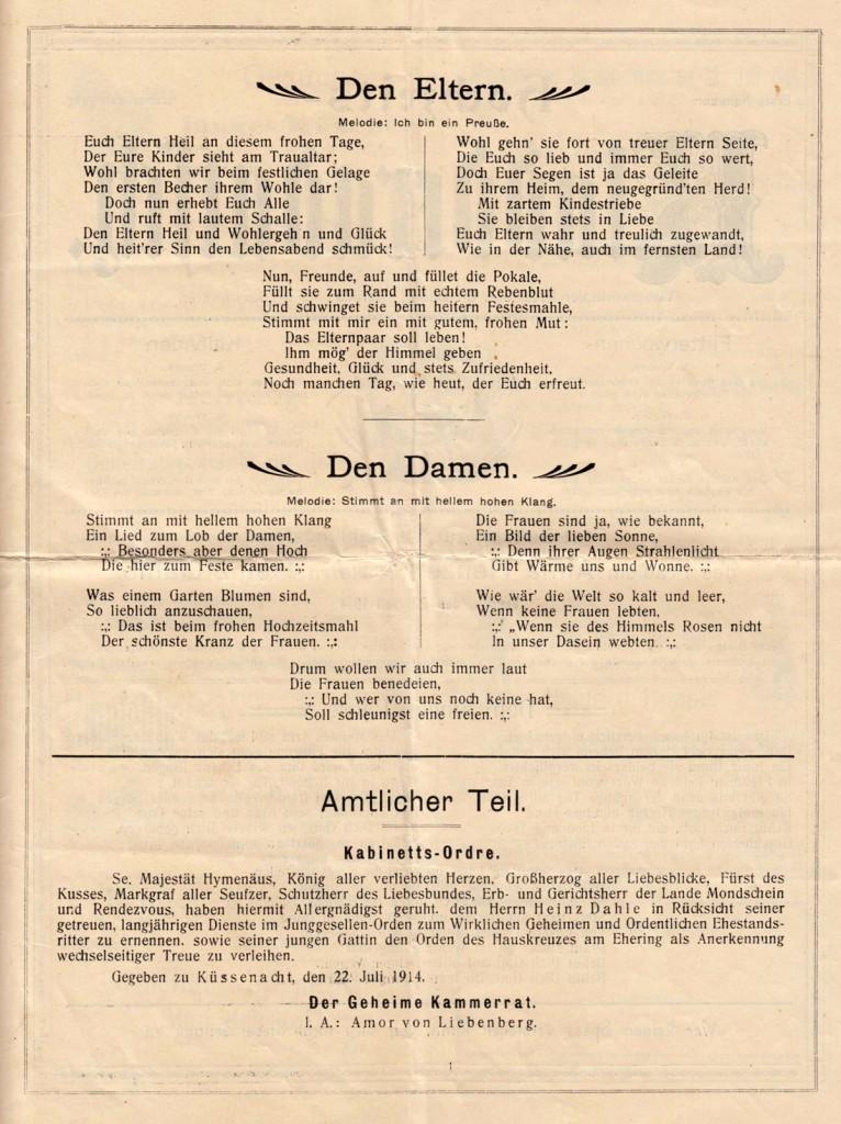 Hochzeits-Kladderadatsch von 1904 - Seite 2