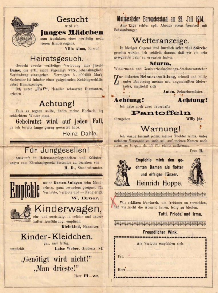 Hochzeits-Kladderadatsch von 1904 - Seite 4